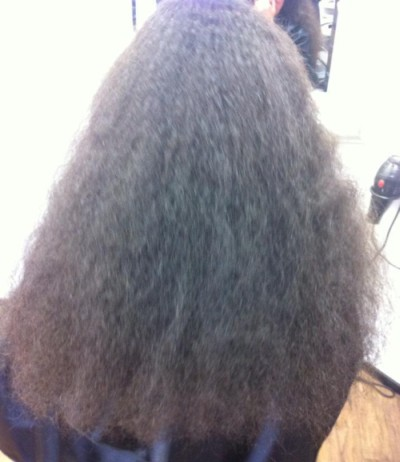Chemical Straightening : Chemical Straightening  Before and After Hair Style Tauranga